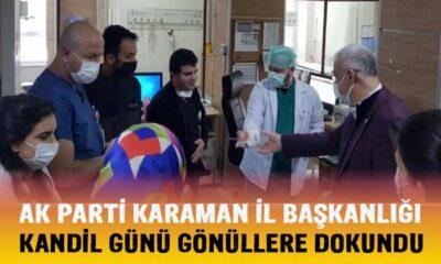 Karaman AK Parti kandil günü gönüllere dokundu