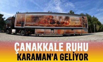 Çanakkale Ruhu Karaman'a geliyor