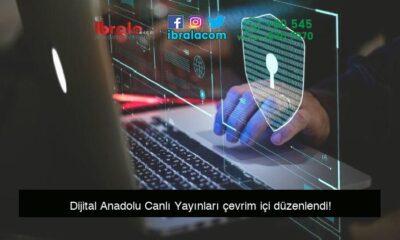 Dijital Anadolu Canlı Yayınları çevrim içi düzenlendi!
