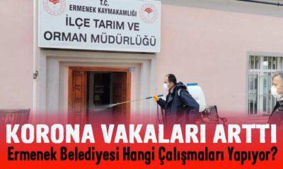 Ermenek Belediyesi korona mücadelesi için neler yapıyor?