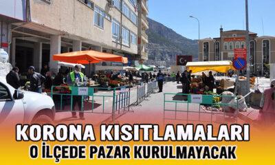 Karaman'da o ilçede pazar kurulmayacak