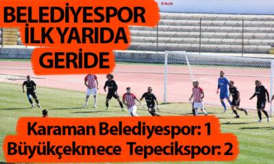Belediyespor İlk Yarıyı Geride Kapattı