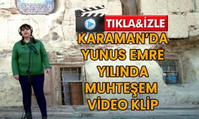 Karaman'da Yunus Emre Yılında Muhteşem Klip