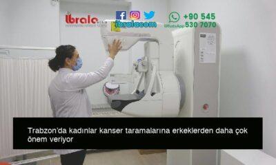 Trabzon'da kadınlar kanser taramalarına erkeklerden daha çok önem veriyor