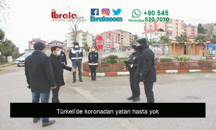 Türkeli'de koronadan yatan hasta yok