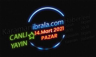 Karaman gündemi 14 mart 2021