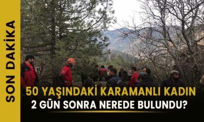 50 yaşındaki Karamanlı kadın nerede bulundu?