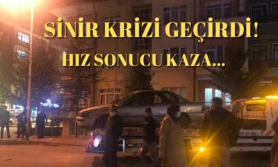 Karaman'da Hız Sonucu Kaza