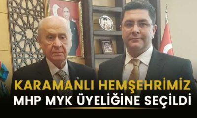 Karamanlı Hemşehrimiz MHP'de önemli göreve getirildi