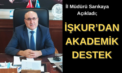 İŞKUR'DAN AKADEMİK DESTEK