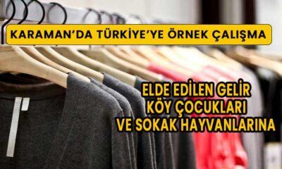 Karaman'da Türkiye'ye örnek çalışma
