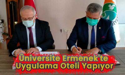 Üniversite Ermenek'te uygulama oteli yapıyor