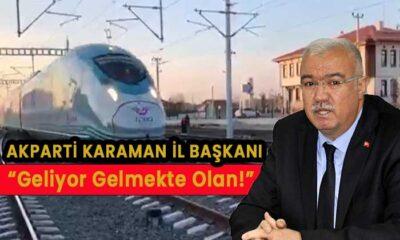 """AK Parti İl Başkanı """"Geliyor Gelmekte Olan"""""""