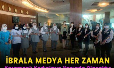 İbrala Medya Karamanlı kadınların her zaman yanında olacaktır