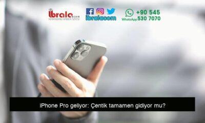 iPhone Pro geliyor: Çentik tamamen gidiyor mu?