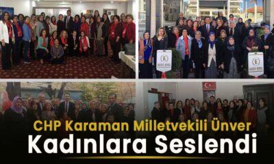 CHP Karaman Milletvekili kadınlara seslendi