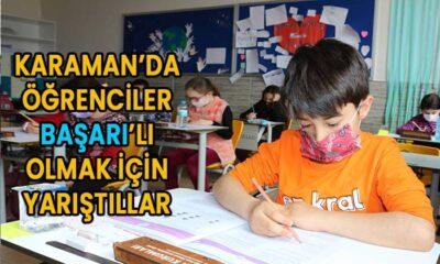 Karaman'da Başarı'lı Olmak İçin Yarıştılar
