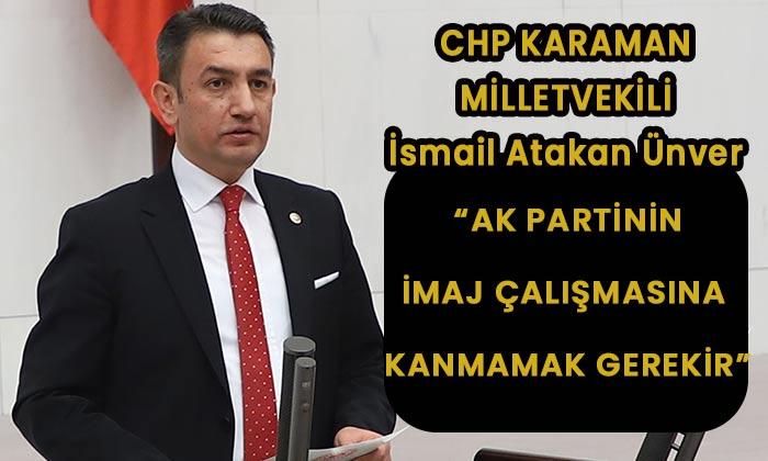 Karaman Milletvekili AK Partiyi bir çok konuda çok sert eleştirdi