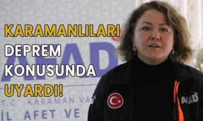 Karamanlıları deprem konusunda uyardı