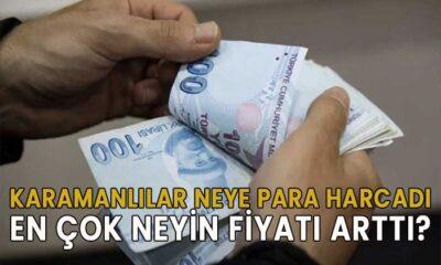 Karamanlılar neye para harcadı?