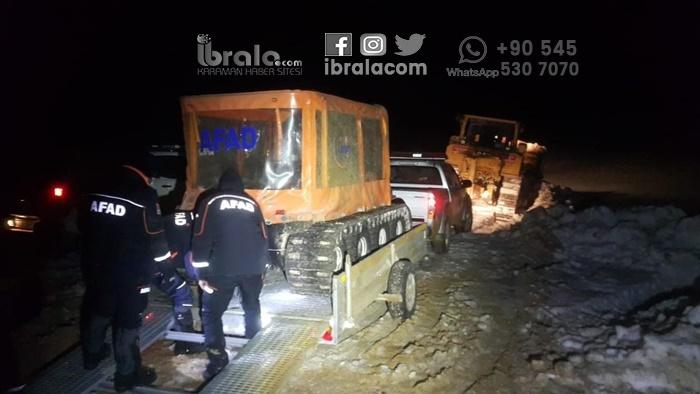 SON DAKİKA Karaman'da kayıp genç bulundu