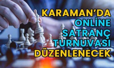 Karaman'da online satranç turnuvası düzenleniyor
