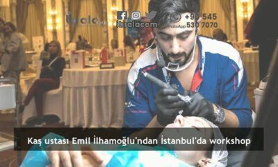 Kaş ustası Emil İlhamoğlu'ndan İstanbul'da workshop