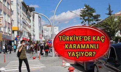 Türkiye'de kaç Karamanlı yaşıyor?