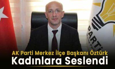 AK Parti Karaman Merkez ilçe Başkanı kadınlara seslendi