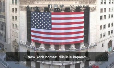 New York borsası düşüşle kapandı