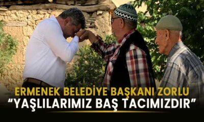 Ermenek Belediye Başkanı yaşlılarımıza seslendi