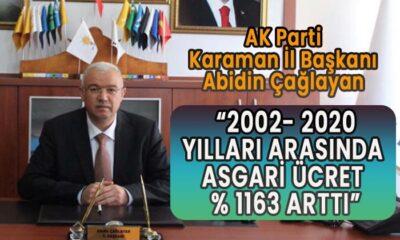 AK Parti Karaman İl Başkanı çalışanlar için yapılanları aktardı