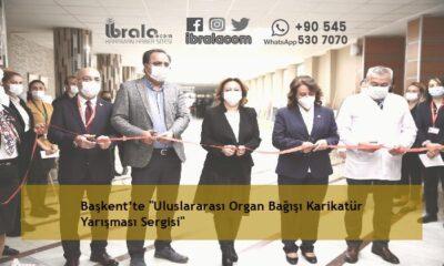 """Başkent'te """"Uluslararası Organ Bağışı Karikatür Yarışması Sergisi"""""""
