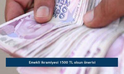 Emekli ikramiyesi 1500 TL olsun önerisi