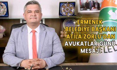 Atila Zorlu'dan Avukatlar Günü Mesajı
