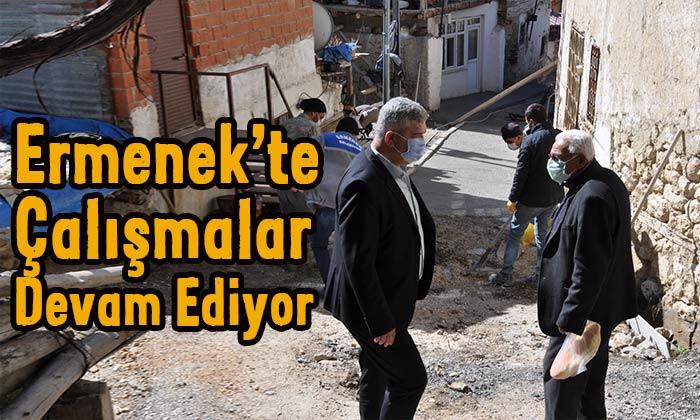 Ermenek'te çalışmalar devam ediyor