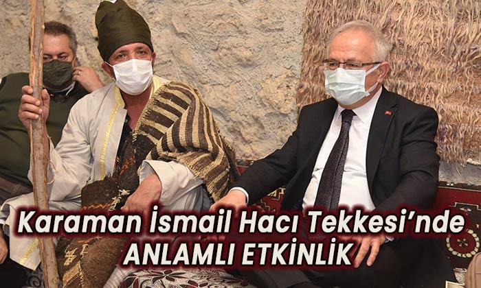 İsmail Hacı Tekkesi'nde anlamlı etkinlik