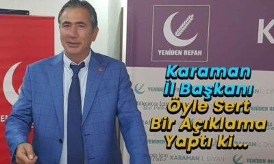 Karaman'da yeni İl Başkanı atandı