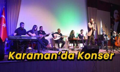 Karaman'da konser