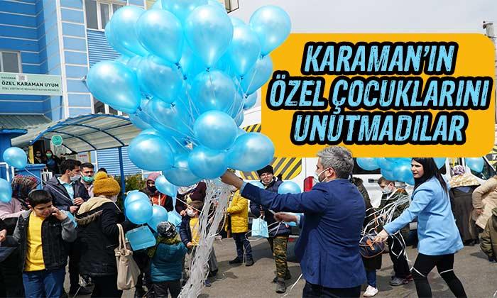 Karaman'ın özel çocuklarını unutmadılar