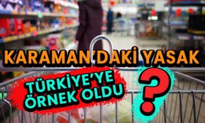 Karaman'daki o yasak Türkiye'ye örnek oldu?