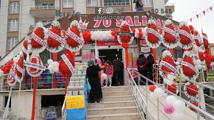 Karaman'da Pazaristan yeni şubesiyle hizmetinizde