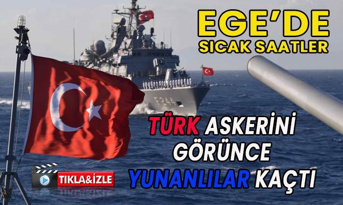 Türk Askerini görünce kaçtılar! Sıcak saatleri izle