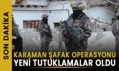 Karaman'daki operasyonda yeni tutuklanmalar oldu