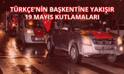 Türkçe'nin Başkentine yakışır 19 Mayıs etkinliği