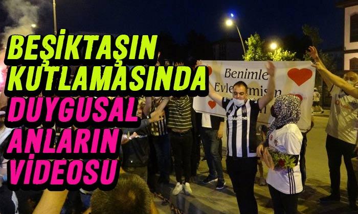 Beşiktaşlıların romantik anları