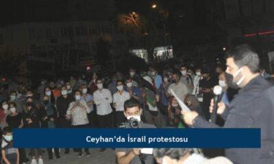 Ceyhan'da İsrail protestosu