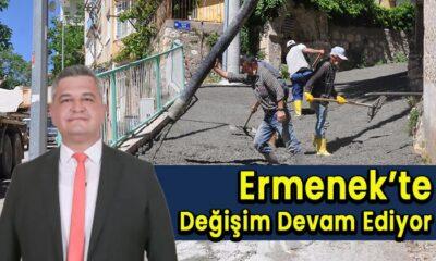 Ermenek'te değişim devam ediyor