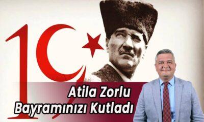 Atila Zorlu Bayramınızı kutladı