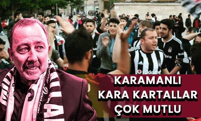 Karaman'da Kara Kartallar çok mutlu